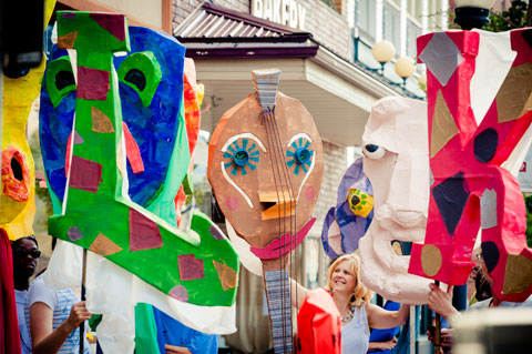 Be a part of the Northern Appalachian Folk Festival in Downtown Indiana, PA! Jim Harris photo